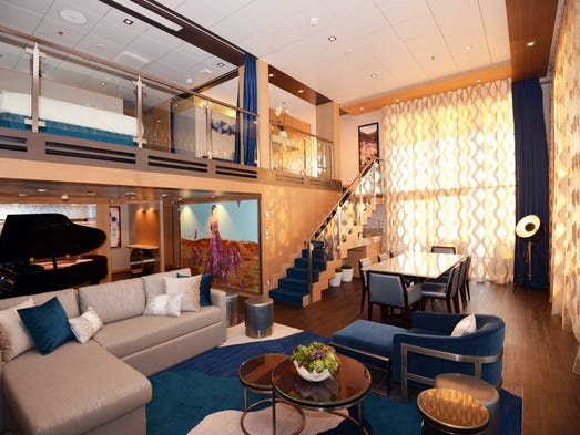Royal Caribbean Symphony Of The Seas Suites In Photos