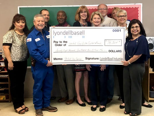 local plant makes big donation to united way of the coastal bend, Powerpoint templates
