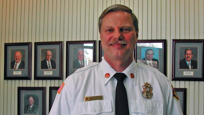 Sparks Fire Chief Andy Flock.