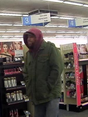 Police are looking for this man who they say stole cash from a Brookside-area Walgreens.