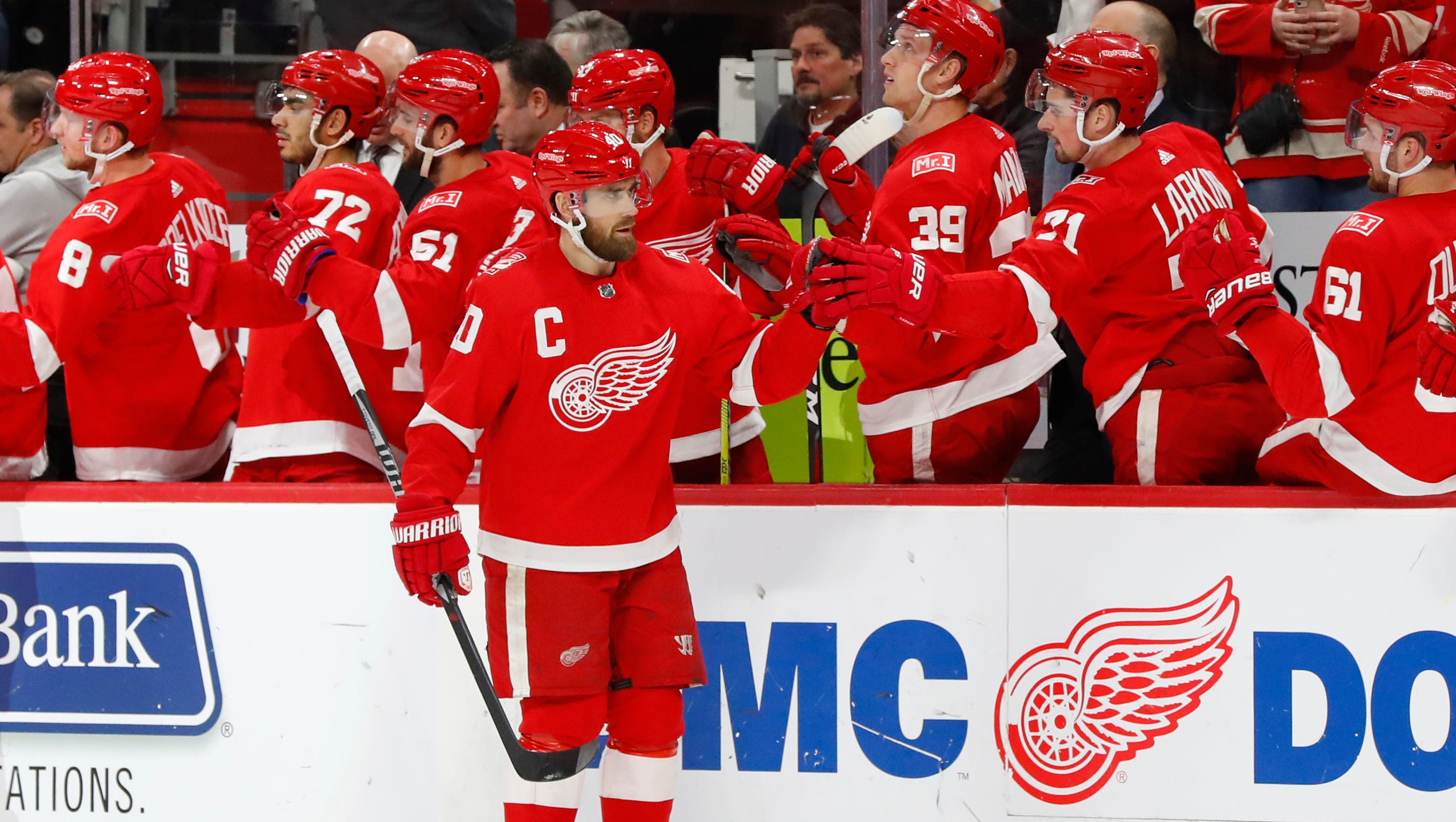 Red Wings' Henrik Zetterberg planning to play another season