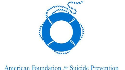 The American Foundation for Suicide Prevention's logo.