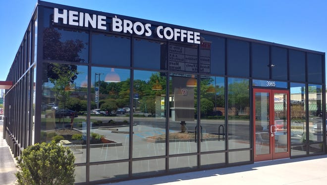 A new Heine Brothers' Coffee shop opened in Hikes Point.