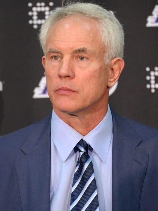 NBA: Los Angeles Lakers-Byron Scott Press Conference