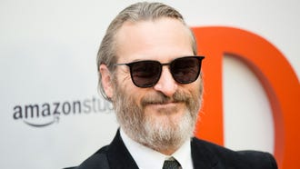 "Joaquin Phoenix arrives to the ""Don't Worry, He Wont Get Far On Foot"" premire."