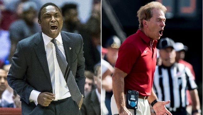 """Avery Johnson said Nick Saban has been supportive of him """"through thick and thin."""""""