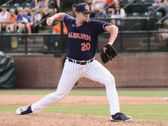 Cody Greenhill (20)  Baseball vs Bryant on Saturday,