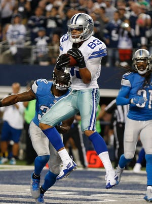 Cowboys WR Terrance Williams caught two TDs on Sunday, including the game-winner.