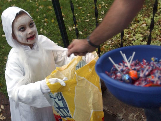 Trick-or-treaters will be out and about in communities