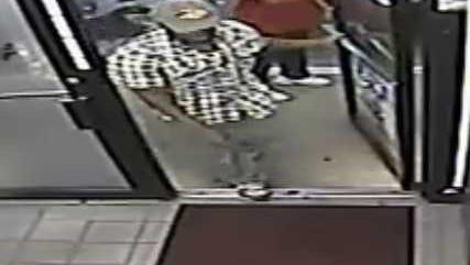 Suspect in robbery of Prattville Marathon on Alabama 14.