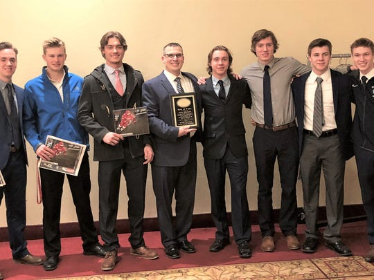 Several Stevenson players were honored by the Michigan High School Hockey Coaches Association.