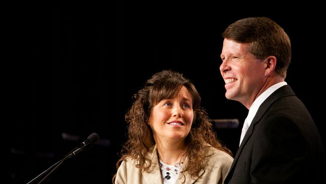 Michelle and Jim Bob Duggar, at the Values Voter Summit in September 2010 IN Washington.
