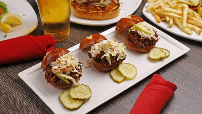 BBQ Boar Sliders from the Wild Game Grill in Phoenix.