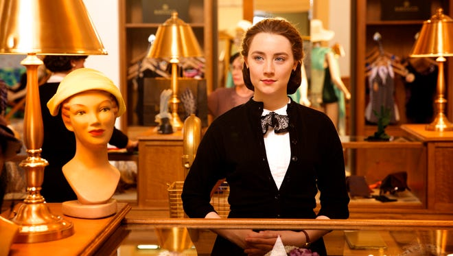 "Saoirse Ronan as Irish immigrant Eilis in a scene from the film ""Brooklyn."""
