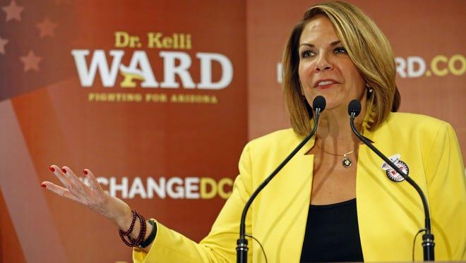 Kelli Ward.
