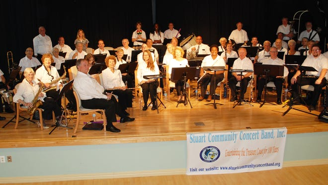 """The Stuart Community Concert Band is a multigenerational group with volunteer musicians from all walks of life and of all ages. Under the direction of conductor Jim LeBon, the band will present """"An Old-Fashioned Sousa Concert"""" at the Kane Center on Sunday, March 18."""