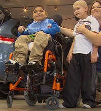 New van means security for Caddo Mills family