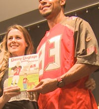Bucs' Jackson and wife co-author children's book