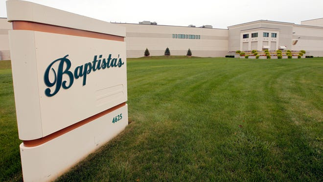 Baptista's Bakery in Franklin will receive $300,000 in state tax credits if it adds 125 jobs and spends $7.8 million on upgrades.