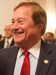 Former Michigan Gov. James Blanchard at a December