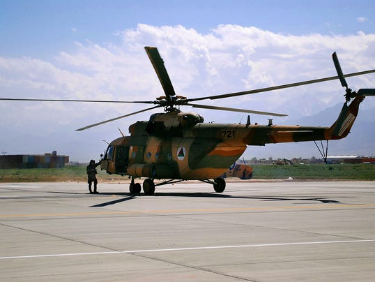 AP Afghanistan Russian Helicopters