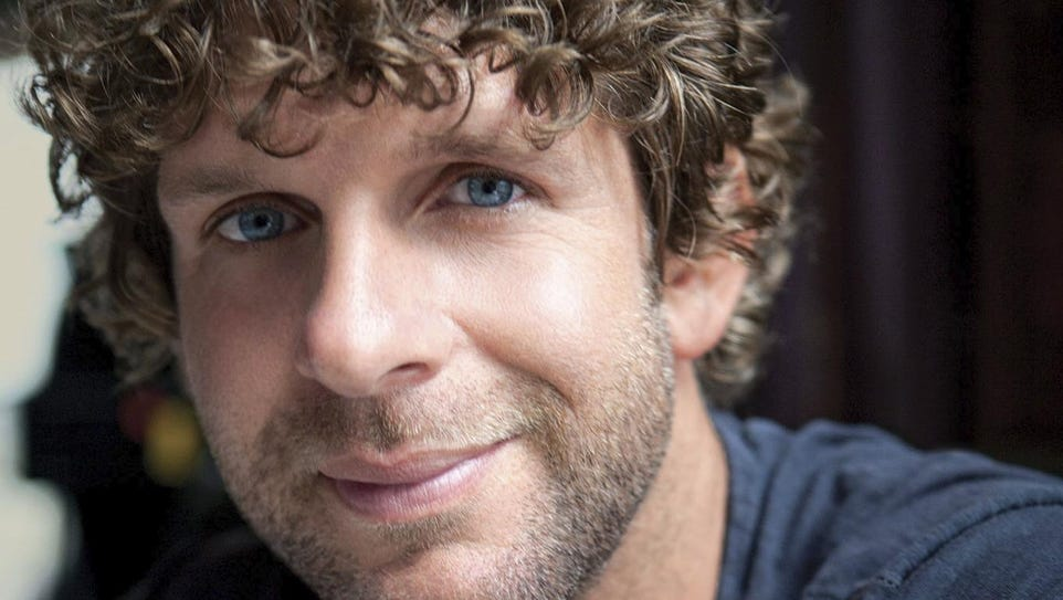 Country music artist Billy Currington.