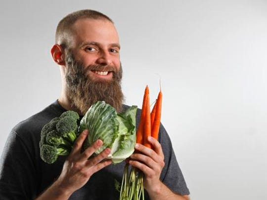 We're following John Newbold on his 3-month Indy Fit Challenge to eat a veggie a day. Unfortunately, he missed a day last week.