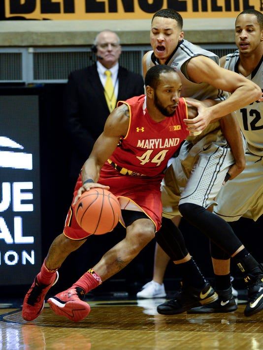 NCAA Basketball: Maryland at Purdue