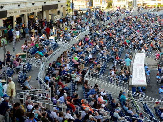 Pensacola Blue Wahoos welcome their one millionth fan to the Pensacola Bayfront Stadium