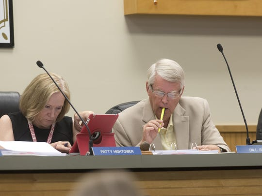School Board Chairman Bill Slayton was one of the two most recommended people for the new schools to be named after.