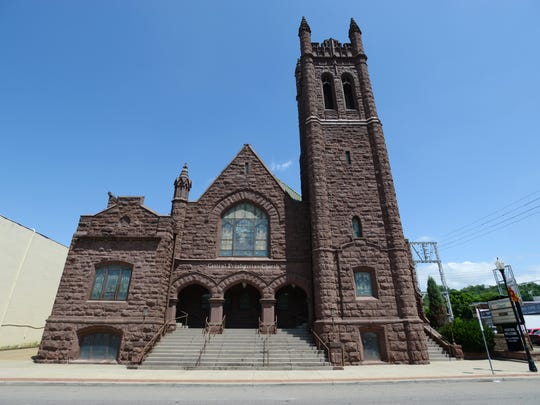 Central Presbyterian Church, built in 1912, is for sale. The congregation can no longer support the venerable building.