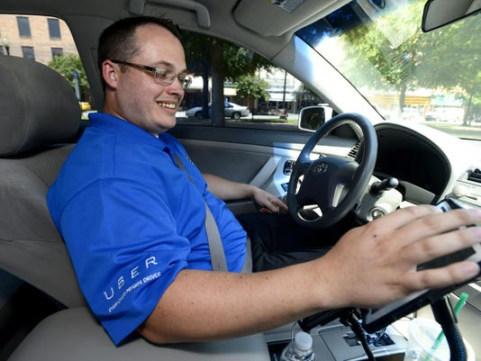 Uber drivers service Pensacola