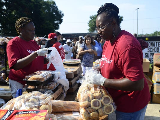 Pensacola Caring Heart helps the hungry