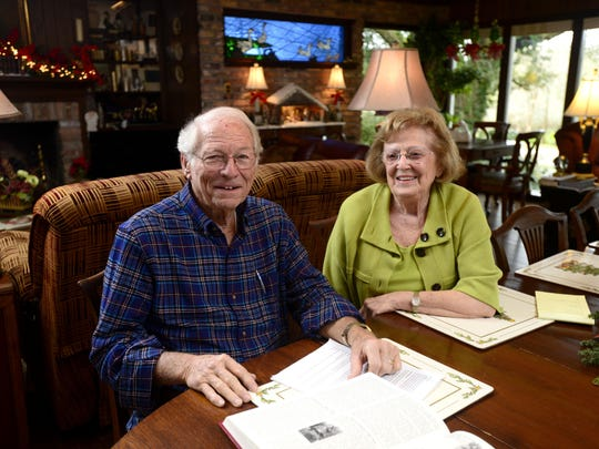 Longtime Pace residents Ed and Ruthie Fortune have seen a lot of growth to their city since 1959 when they opened Fortune Pharmacy on Highway 90.