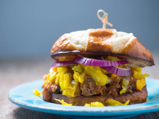 Curry Barbecue Pork Sammie