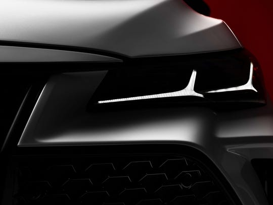 Teaser photo of the new Toyota Avalon to be show at