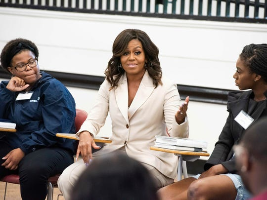 Michelle Obama,Rayven Peterson,Anta Njie