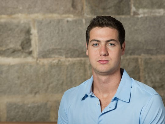 Ben Kaplan grew up in Burlington playing hockey and joined the Division I team at College of the Holy Cross in Worcester, Mass. before dropping out to launch a new college nightlife app called WiGo.