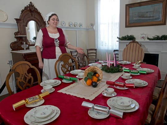 University of West Florida Historic Trust employee Abigail Melton describes common Victorian area Christmas decorations popular in the Pensacola area during that period.