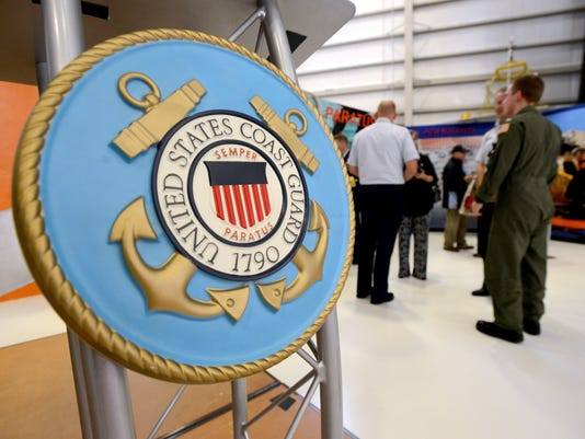 Coast Guard Aviation Exhibit dedicated at National Naval Aviation Museum