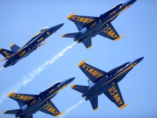 Pensacola Beach Airshow, Blue Angels