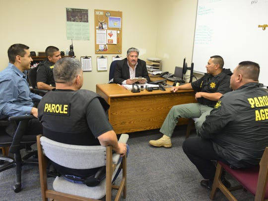 State parole agents talk about Operation Boo, which