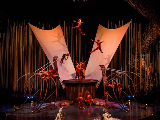 """Varekai,"" the Cirque du Soleil spectacular, is set to soar March 25-29 at Save Mart Center in Fresno."