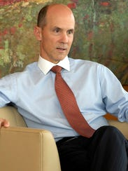 Ex-CEO of Equifax Richard Smith, shown in 2007. Smith