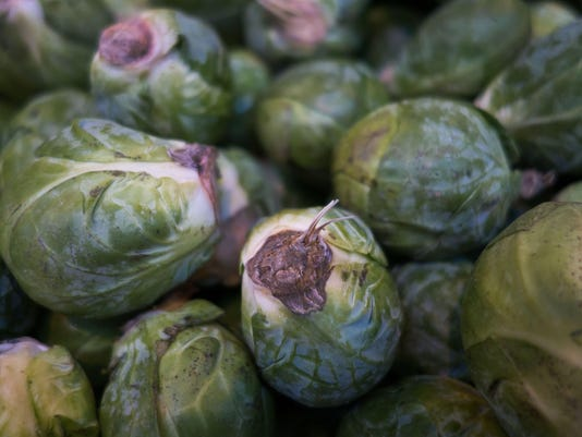 US-FOOD-BRUSSEL SPROUTS