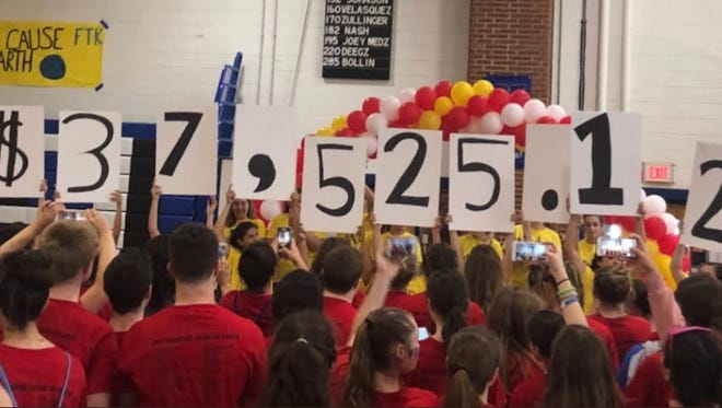 Students at JaysFest raised $12,000 more than last year