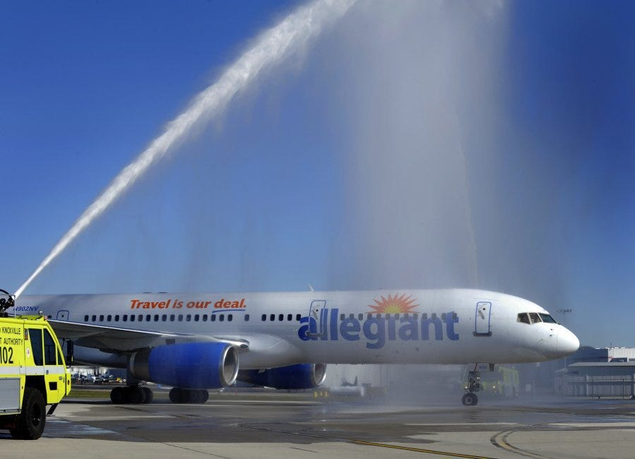 Allegiant air sweepstakes