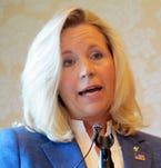 As a Senate candidate, Liz Cheney held a news conference in Cheyenne, Wyo., on July 17, 2013. She ended her campaign Monday.