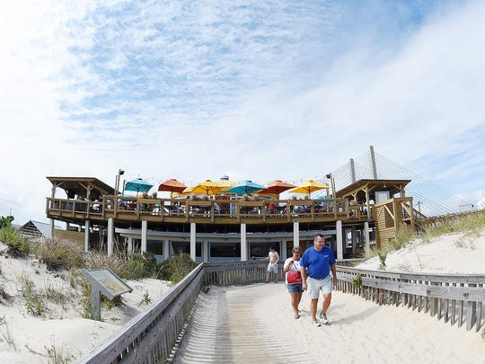 Brews By the Bay's new home, Big Chill Beach Club at Indian River Inlet, includes a path to the beach.