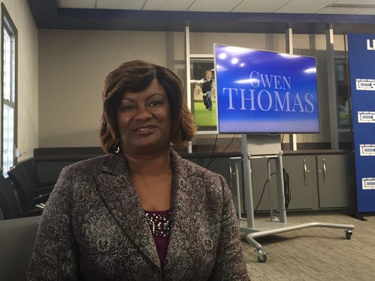 Griffin Middle School Principal Gwendolyn Thomas was named a Glenn-Howell award finalist this year.